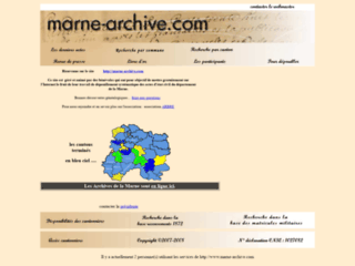 Marne-archives