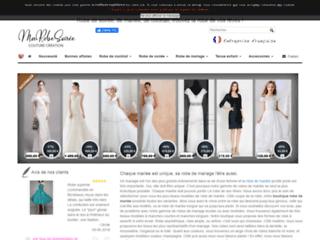 Détails : Boutique en ligne de robe de soirée