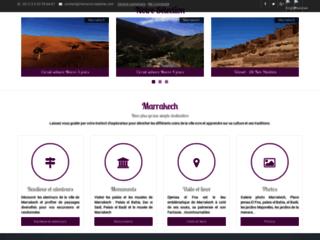 Capture du site http://www.marrakech-circuit.com