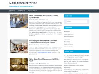 Capture du site http://www.marrakech-prestige.com