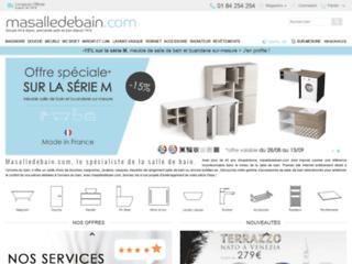 Capture du site http://www.masalledebain.com