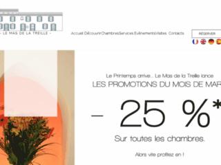 Mas de la Treille -Week-end  dans le Gard: Chambres d'hôtes en Provence et Maison d'hôtes Avignon