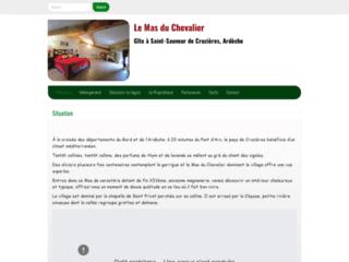 Week-end entre Gard et Ardèche: le mas du chevalier