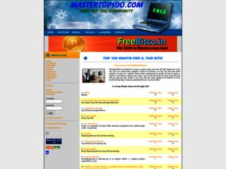 Mastertop100.com Superclassifica per siti web