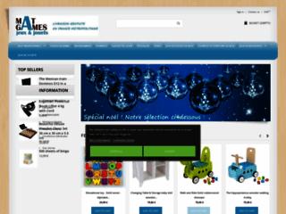 Matgames.fr, boutique de jeux ludiques