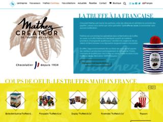 truffes chocolats