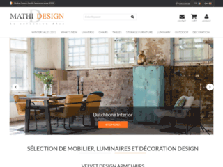 Vente en ligne mobilier et décoration design
