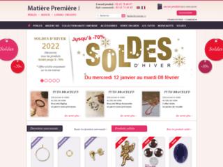 Vente de Perles, swarovski, perles de rocailles, perle strass, bagues & bijoux en perles - Matière Première