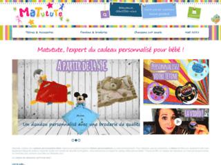 www.matutute.com - De nombreuses d'idée de cadeaux originaux pour les chérubins