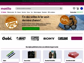 Détails : Maxilia.fr, objets publicitaires