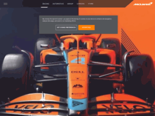 McLaren Group: Sito Ufficiale www.mclaren.com