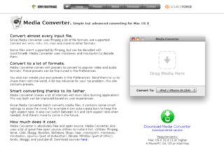 Media Converter - Utility di coversione video semplice e avanzata per Mac OS X