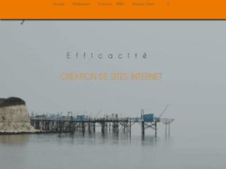 Une conception moderne pour un site efficace
