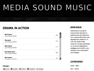Media sound music -designed music for media