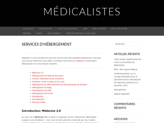Liste de diffusion sur la mucoviscidose sur http://www.medicalistes.org/muco/
