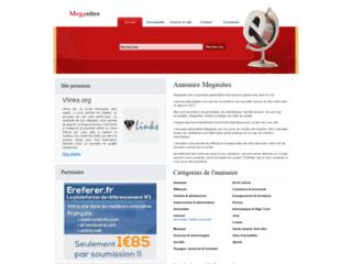 Megasites, l'annuaire généraliste, référencement de vos sites web, augmentez votre pagerank