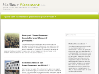 Détails : www.meilleurplacement.info