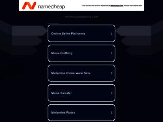 Capture du site http://melmacpatagonia.com