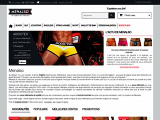 Menalso : boutique de lingerie pour hommes