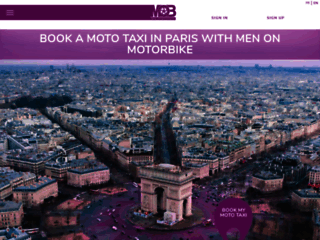Men on Motorbike - taxi moto Paris