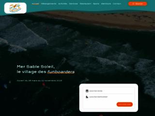 Camping Mer Sable Soleil à Port Leucate