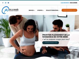 Cours prénataux et accompagnement à la naissance sur http://www.mereetmonde.com