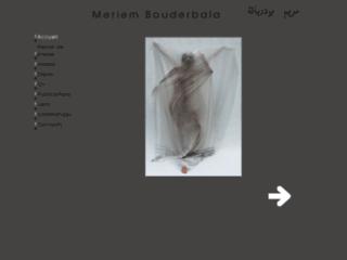 Bouderbala, Meriem