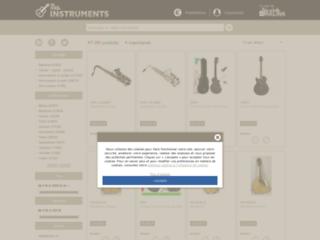Des instruments de musique de qualité à votre portée