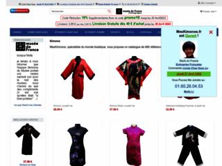 Détails : Boutique de mode asiatique