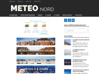 Capture du site http://www.meteo-nord.fr