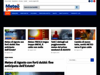 Meteo Giornale, previsioni meteo, Meteo Italia - Meteogiornale.it