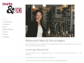 Mets et Vins, restaurant gastronomique Angers