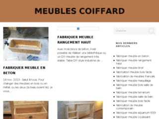 COIFFARD fabrication mobilier haut de gamme