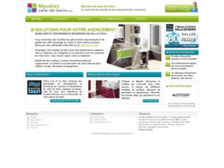 Capture du site http://www.meubles-salle-de-bains.net/