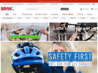 Capture du site http://www.mhw-bike.fr
