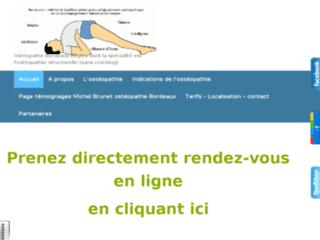 Centre d'ostéopathie et d'énergétique sur Bègles sur http://www.michelbrunet-energie-sante-nature.com