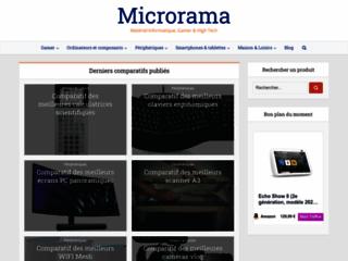 MicroRama, l'espace tout-en-un dédié à l'informatique, les appareils gamer et le high-tech