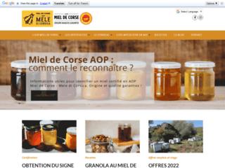 Site officiel du Syndicat AOC Miel de Corse - Mele di Corsica