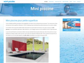 Détails : www.minipiscine.fr