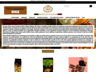 MIP : votre site de produits italiens