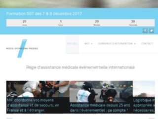 Médical International Présence Rhône-Alpes sur http://www.mipfr.fr