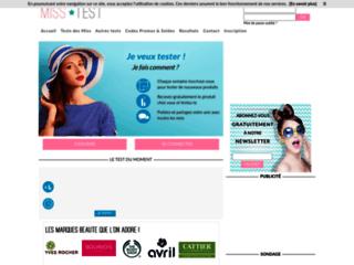 Détails : Test gratuit produits de beauté maquillage cosmétiques
