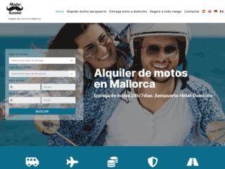 Louer un scooter á Majorque