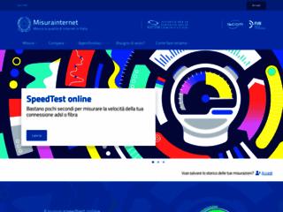 Misurainternet - Download test della connessione ADSL Ne.Me.Sys