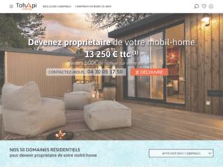 Détails : mobilhome a vendre dans camping
