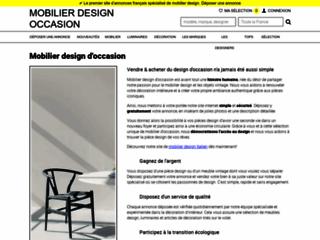 Détails : Mobilier design Occasion