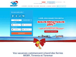 Ferry Corse, Sardaigne et �le d'Elbe avec Moby Lines