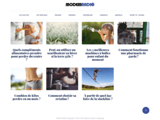 webradio ModemRadio la musique en ligne