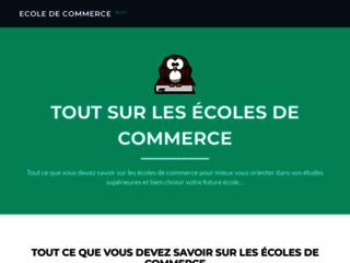 Détails : Ecole de commerce post Bac