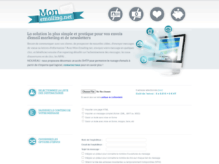 routage d'emailing